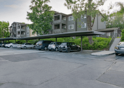 Covered parking available at Crestwood Apartment Homes
