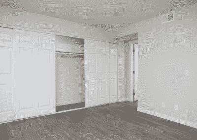 Expansive storage & closet space