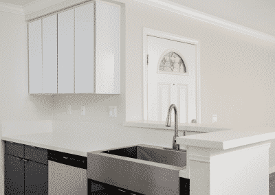 Eco-friendly kitchen & custom cabinetry