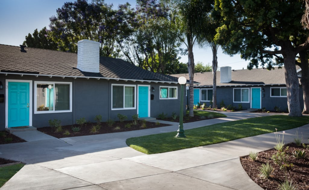Cheerful & charming one-story community